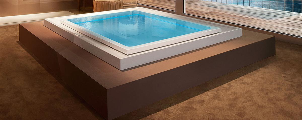 Квадратный SPA-бассейн